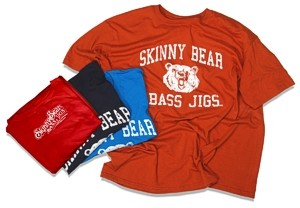 Skinny Bear College T-shirt
